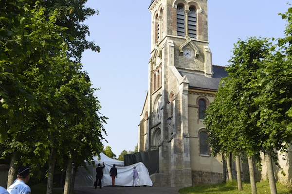 The chapel where Halle Berry married Olivier Martinez