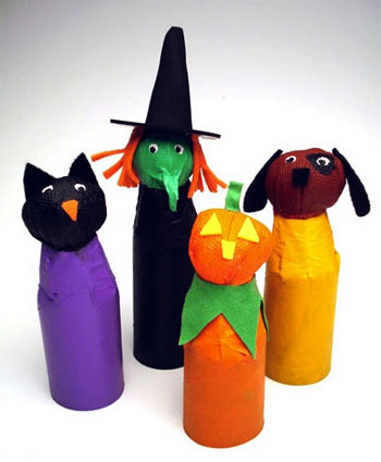 Halloween Trick Or Treaters Craft Sheknows