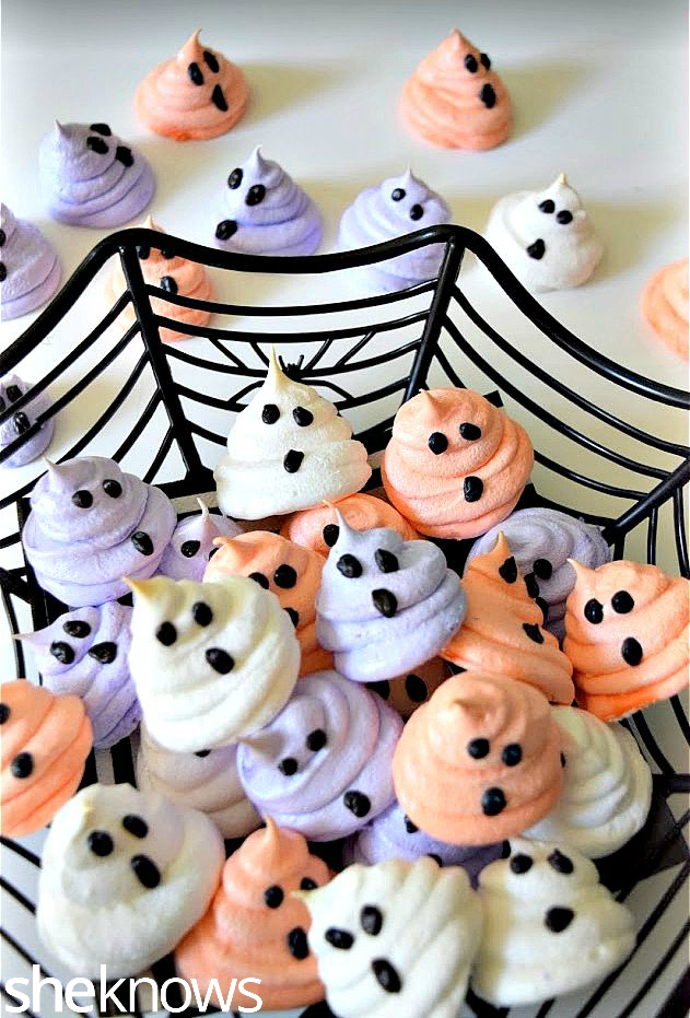 ghost-meringues