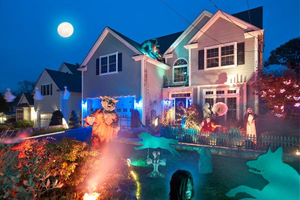 Halloween Decor Strobe Light