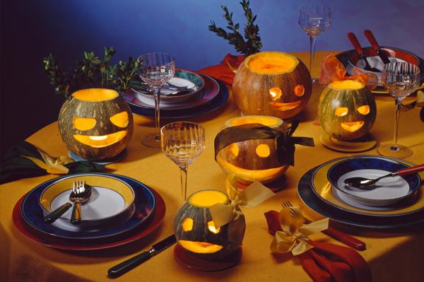 Halloween Placesetting