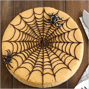 Spiderweb cheesecake | Sheknows.ca