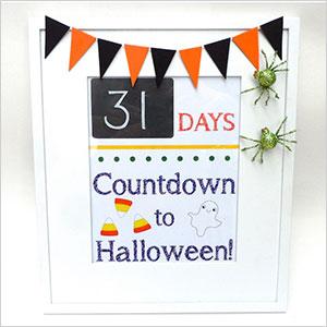 Halloween countdown frame | Sheknows.ca
