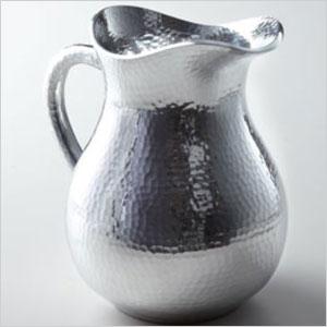 Hammered pitcher