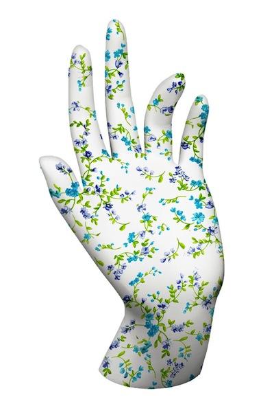 Hand-softening gloves