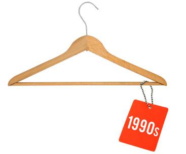 1990s clothes hanger