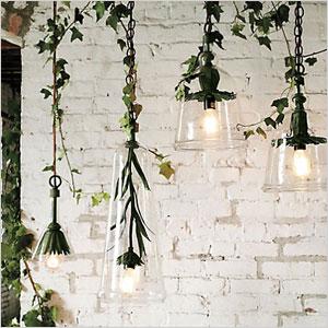 Hanging vine lights