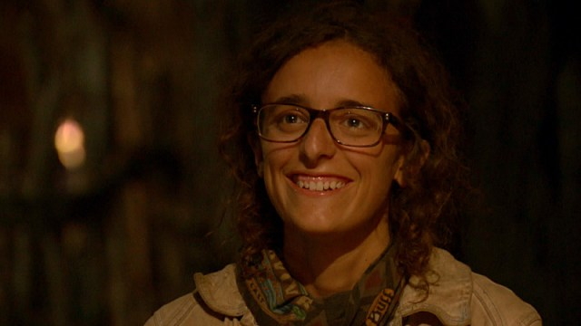Hannah Shapiro at final Tribal Council on Survivor: Millennials Vs. Gen-X