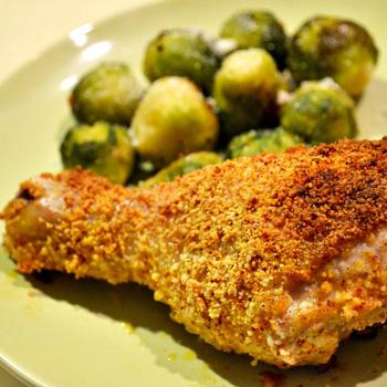 Hansel and Grettle's crispy oven fried chicken