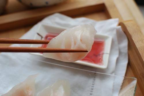 shrimp dumplings har gow