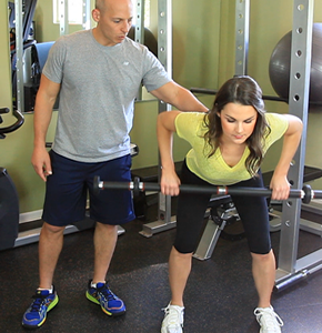 Bent over row - Harley Pasternak's 5 Factor workout