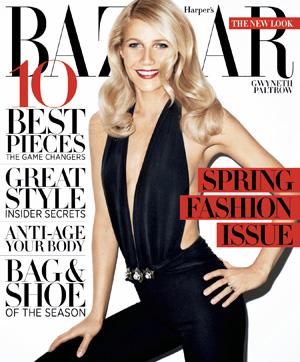 Harper's Bazaar March 2012 cover