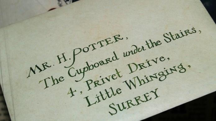 Harry Potter fan gives cupboard under
