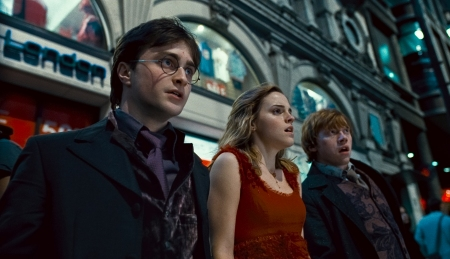 Harry Potter and the Deathly Hallows hallowed cast
