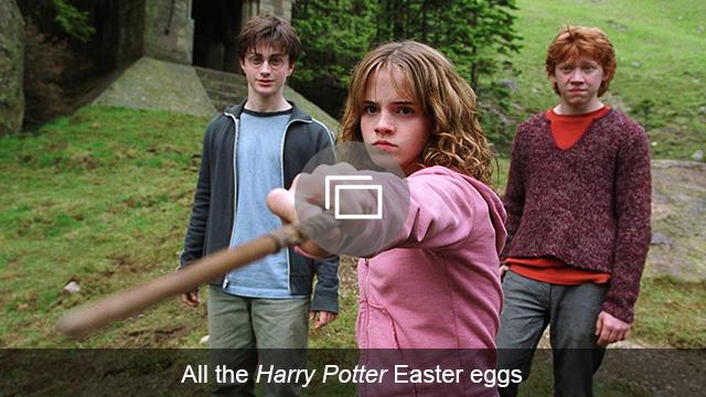 Harry Potter Easter eggs slideshow