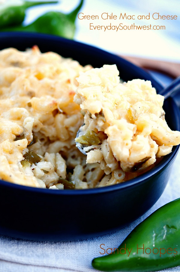 Hatch green chile mac & cheese