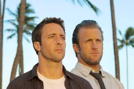 Hawaii Five O stars Alex O'Laughlin and Scott Caan