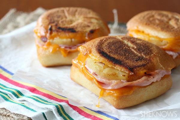 Hawaiian grilled cheese sandwich recipe