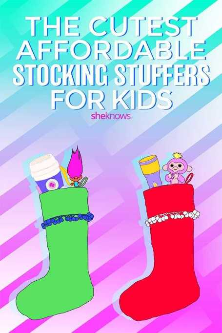 Pin it! The Cutest Affordable Stocking Stuffers for Kids