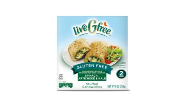 Live G Free Stuffed Sandwiches at Aldi