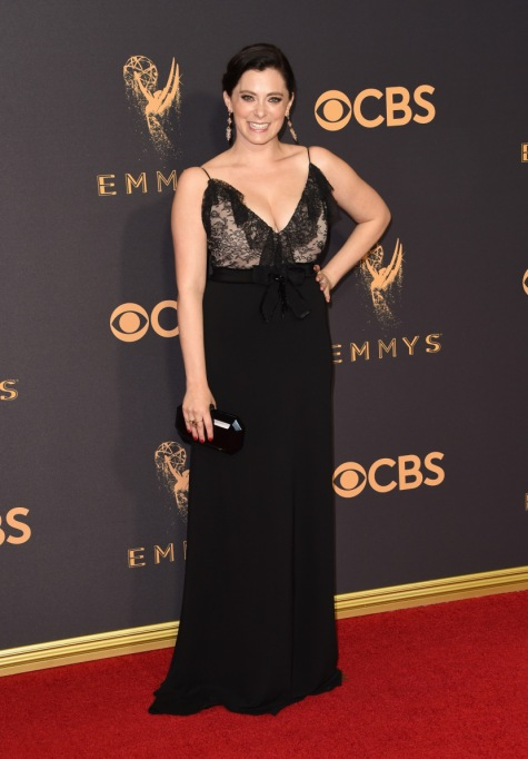 Non-Sample-Size Celebrities: Rachel Bloom 2017 Emmys | Celeb Fashion 2017