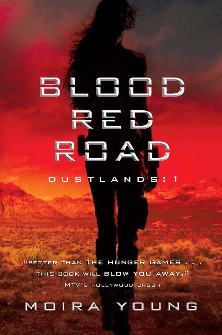 Blood Red Road book cover