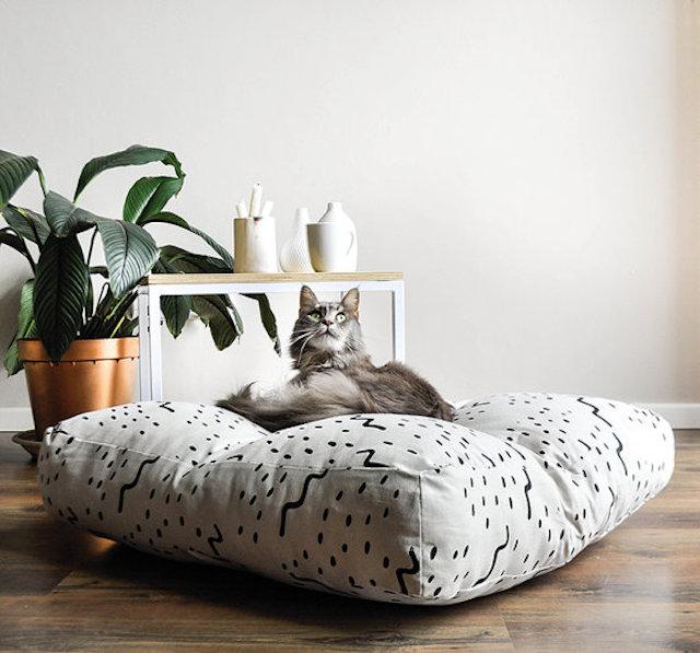 Unique Nursery Decor: Patterned floor cushion