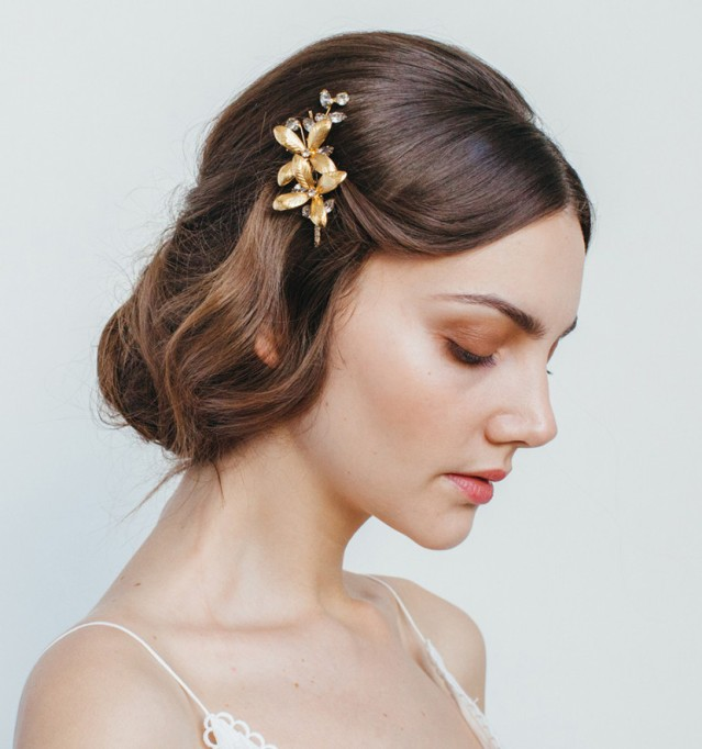 Ethereal Bridal Hair Accessories | Layla Bobby Pin