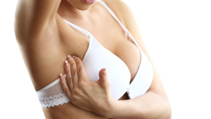 Breast examination.