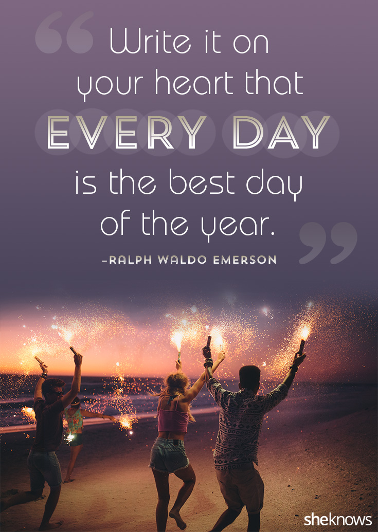every single day new year quotes image design by terese condellasheknows image via getty images