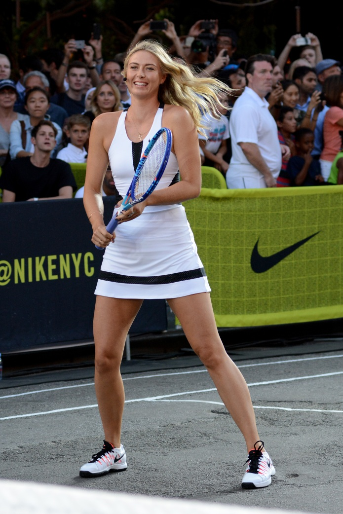 """Nike's """"NYC Street Tennis"""" Event Featuring:"""