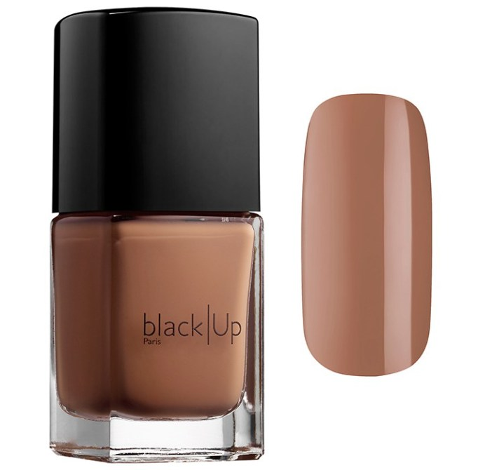 Ugly Nail Polish Colors Are Trending For Summer 2017: Black Up Nail Lacquer in Nude Hazelnut | Summer Makeup Trends 2017