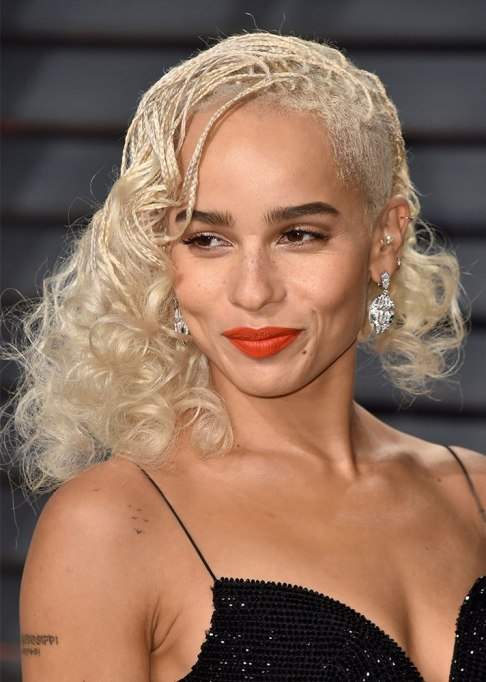 Best Celebrity Braids: Zoe Kravitz | Celeb Hair Inspo 2017