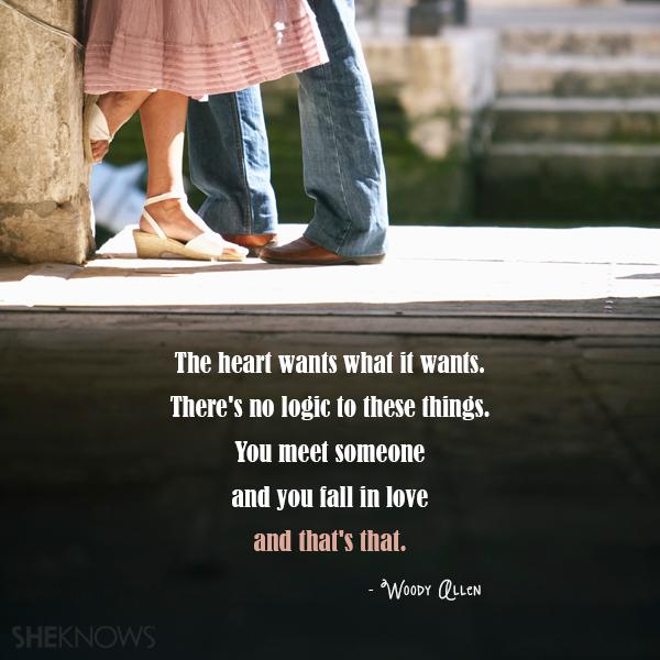 Woody Allen love quote
