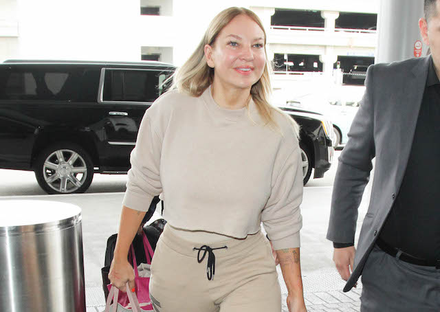 Sia is seen at LAX on March 22, 2017 in Los Angeles, California