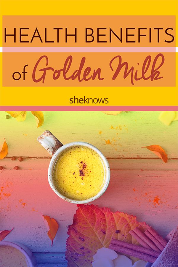 Health benefits of golden milk