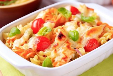 Healthy homemade mac and cheese