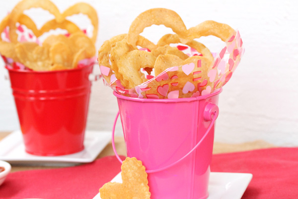 Valentine Tortilla Chips
