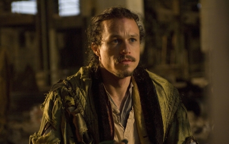 Heath Ledger in his final film role