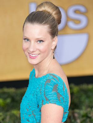 Heather Morris, new mom to be
