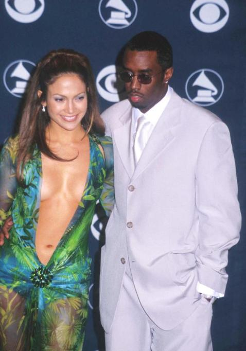 Jennifer Lopez and Sean 'P Diddy' Combs