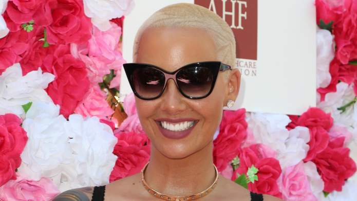 There's definitely no doubt Amber Rose