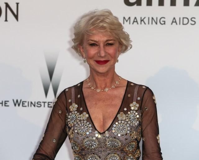 Helen Mirren amfAR