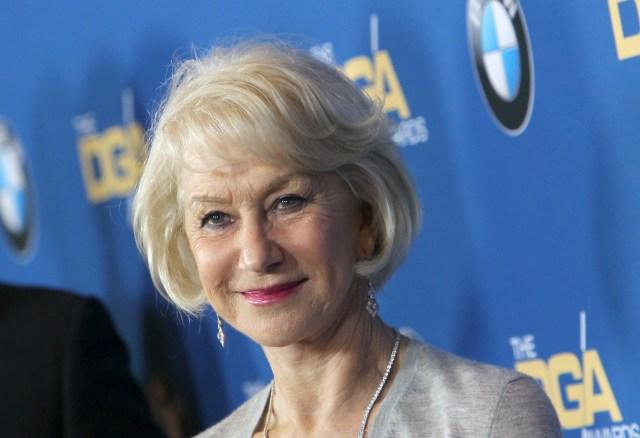 Helen Mirren Director's Guild Awards