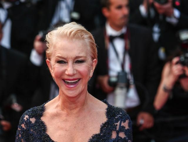Helen Mirren Cannes