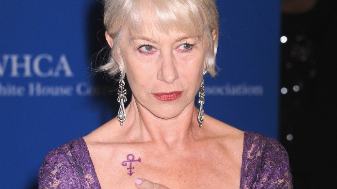 Helen Mirren pays Prince the perfect