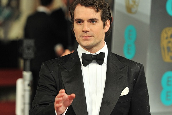 Henry Cavill being a stud