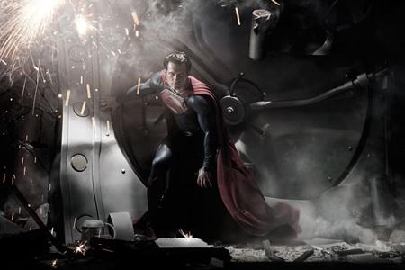 Henry Cavill Man of Steel Superman Costume