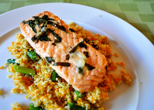herbed salmon
