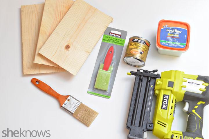 Geometric shelf supplies